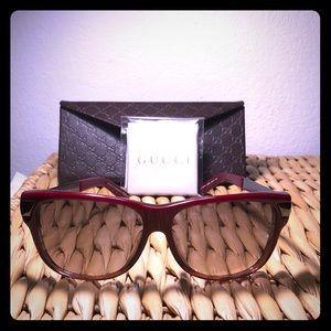 Gucci GG3619 F/S Red Rim Sunglasses